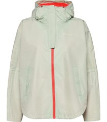 silhouette poncho jacket outerwear sport jackets groen johaug