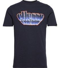 el multizio tee shirt t-shirts short-sleeved blå ellesse