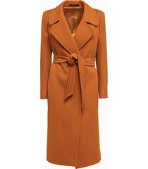 tagliatore cappotto in lana e cashmere