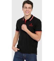 polo negro-rojo-blanco royal county of berkshire polo club