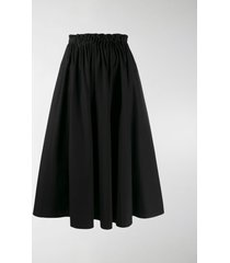 marni pleated a-lined skirt