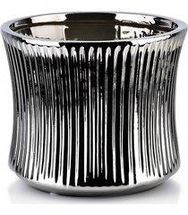 kwietnik osłonka ceramiczna silver line