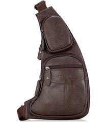 multi-funzionale sport casual sling borsa petto borsa crossbody borsa per gli uomini
