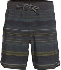 "prana men's ground speed 7.5"" inseam yoga shorts - rye pontoon x-small cotton"