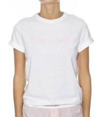 calvin klein cotton coord top ss crew neck * gratis verzending * * actie *
