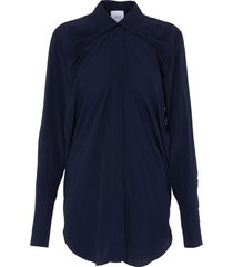'iconic' gathered detail blouse