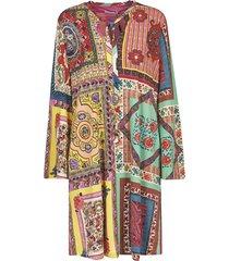 etro abstract print mutli-print dress