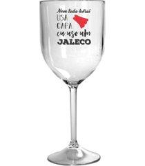 2 taã§as vinho acrãlico personalizadas enfermagem - incolor - dafiti