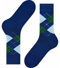 manchester socks - blue/green 20182-6050