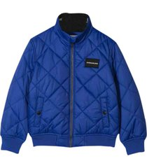 calvin klein synthetic fiber padded jacket