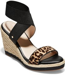 women's cole haan cloudfeel espadrille wedge sandal