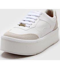 zapatilla blanca vizzano