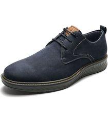 zapato de amarrar azul/marrón pierre cardin pc8661-b