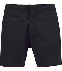 amir slama mid rise swim shorts - black