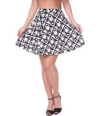 white mark women's heidi skirt