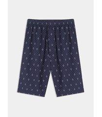 bermuda pijama anclas y puntos