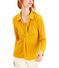 alfani textured shirt, created for macy's