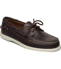 docksides portland båtskor skor brun sebago