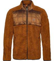 pm baffle mix fz fleece sweat-shirts & hoodies fleeces & midlayers bruin o'neill