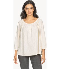 lilla p button swing henley top