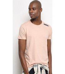 camiseta t-shirt acostamento básica masculina