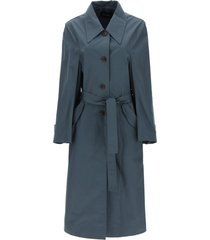 low classic cotton trench coat