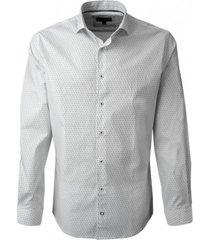 camisa estampada spandex ultra slim potros