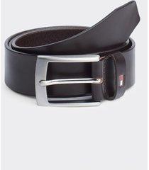 cinturón adan leather azul tommy hilfiger