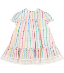 gucci white dress for babygirl with double gg