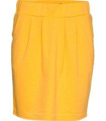 nanni-sk kort kjol gul free/quent