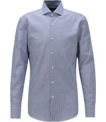 boss men's jason navy shirt