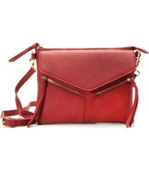 imoshion handbags overlap pocket crossbody bag