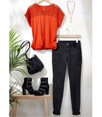 maglia (arancione) - rainbow