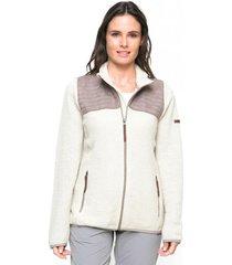 sweater mujer yasui crudo endurance