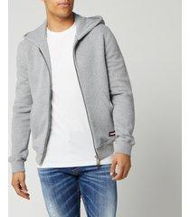dsquared2 men's zip hoodie - grey - xl