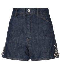 vivienne westwood anglomania denim shorts