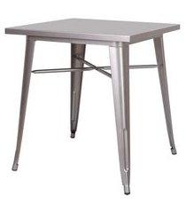 mesa iron cinza 75 cm (alt) - 43874 cinza