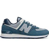 tenis new balance lifestyle 574-azul-azul-gris