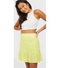 river island bella sequin mini skirt minikjolar