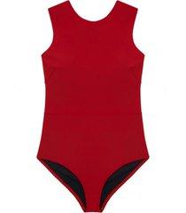 strój kąpielowy mick red