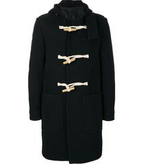 ami paris duffle coat - black