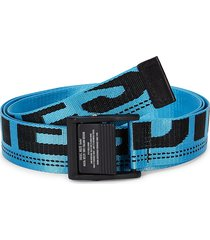 diesel men's b-maser adjustable belt - light blue - size 95 (38)