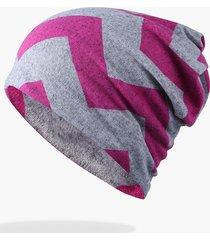 cappello da donna a maniche lunghe in cotone con stampa a caldo per berretto da donna, antivento casual per entrambe le teste e cappello scaldino collo