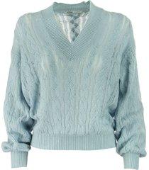 agnona cashmere sweater pull