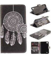 lg x power case,lg k6p case,lg k210 case,xyx [black dreamcatcher] pu leather wal