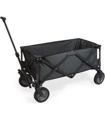 oniva by picnic time adventure wagon dark grey folding utility wagon
