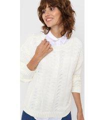 sweater blanco laila eugene