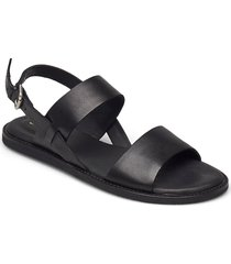 karsea strap shoes summer shoes flat sandals svart clarks
