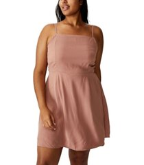 cotton on curve woven 90s dress