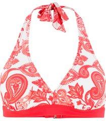 reggiseno per bikini con scollo all''americana (rosso) - bpc bonprix collection